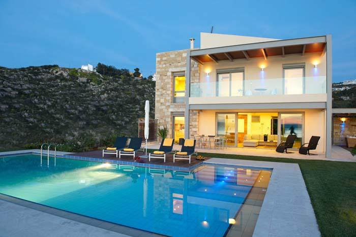 Villa almyra almyrida chania crete for Villa de luxe paris